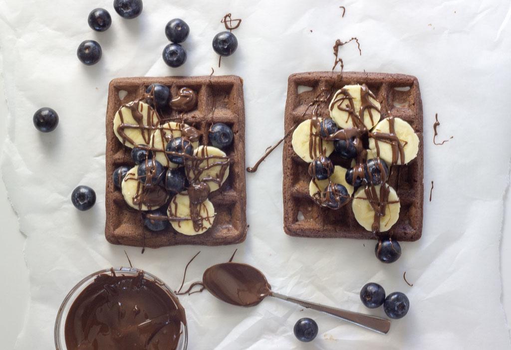 Vafler med kakao