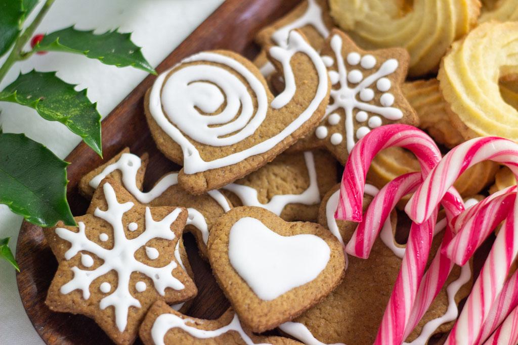 Peberkager med glasur