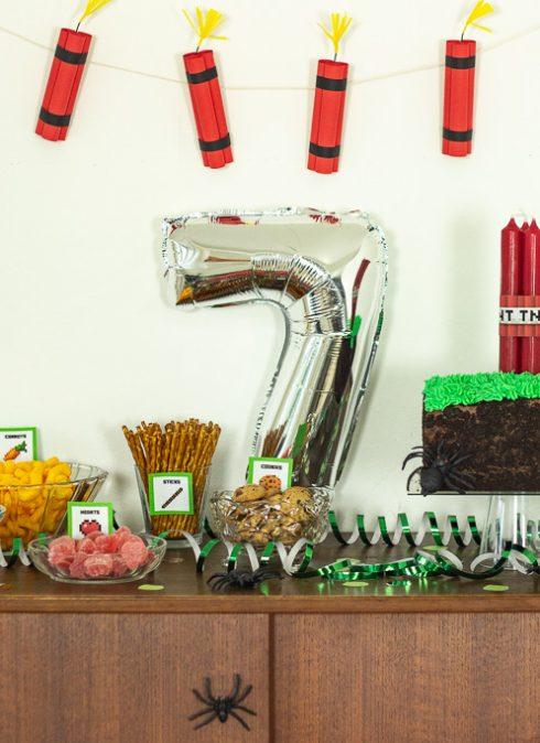 Minecraft fødselsdag ideer
